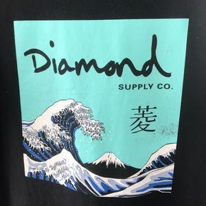 Men's black diamond supply tshirt